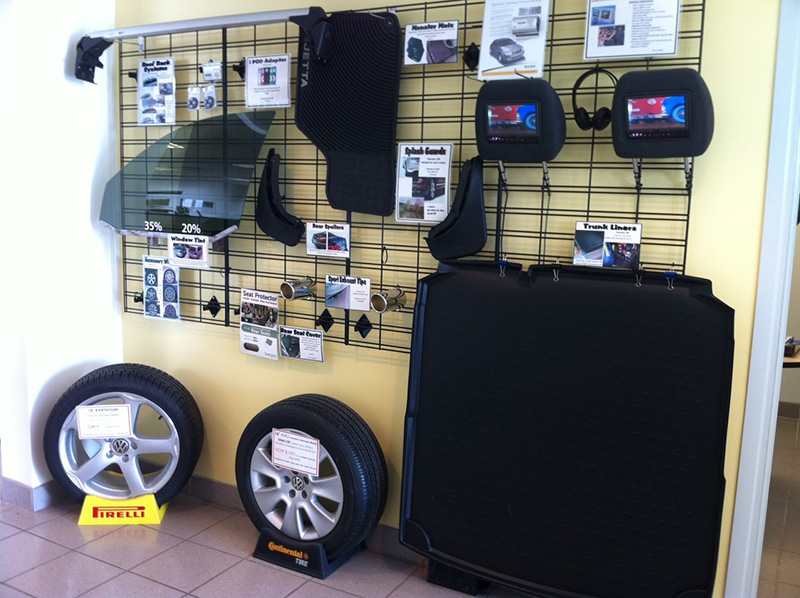 Volkswagen Accessories wall
