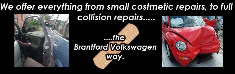 Brantford Volkswagen collision centre