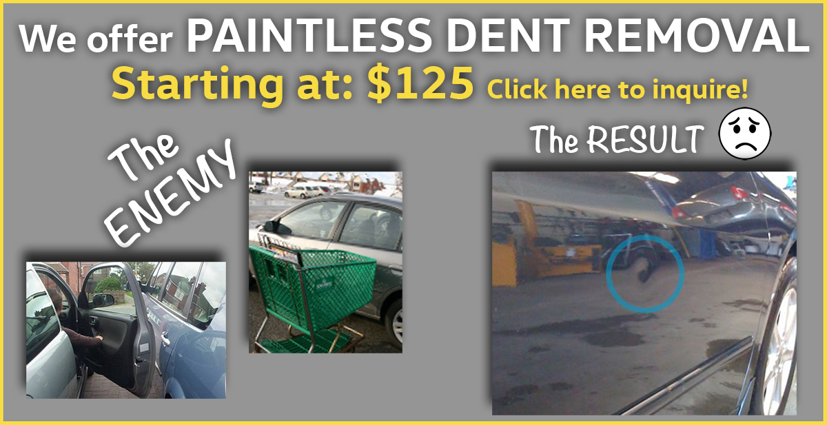 Volkswagen paintless Dent removal