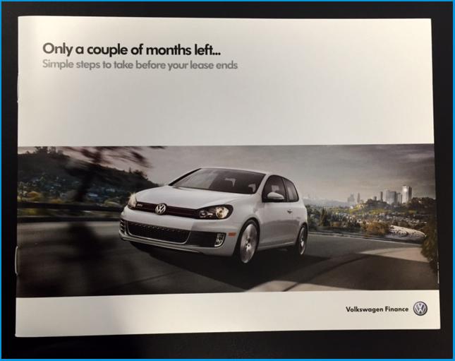Volkswagen Lease end info Brantford