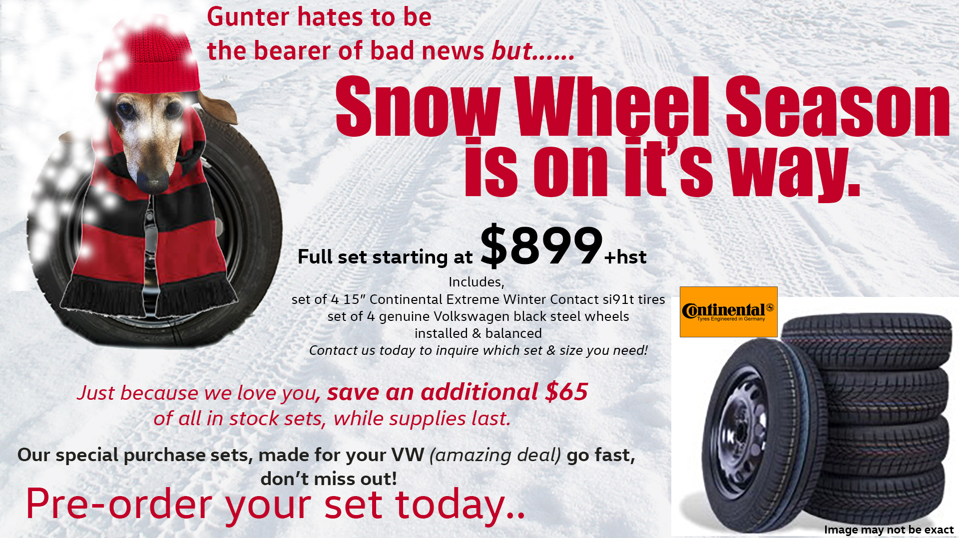 menu snow wheels nov 17 2