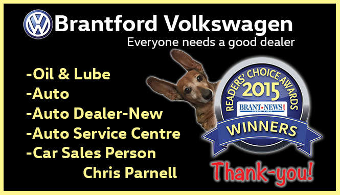Brant news readers choice 2015 5 awards won! WOW thank you!