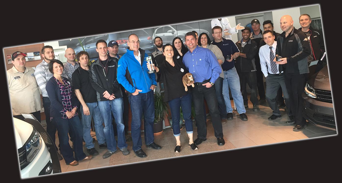 Brantford Volkswagen Staff Team meet us