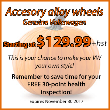 Volkswagen Alloy Wheels Special