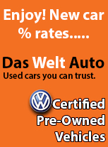 Volkswagen's who are certified pre owned enjoy new car finance rates