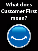 Customer first has its own meaning in the Volkswagen world with no cliches.