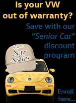 a discount program for out of warranty Volkswagens