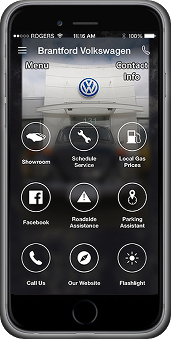 FREE Brantford Volkswagen app Download