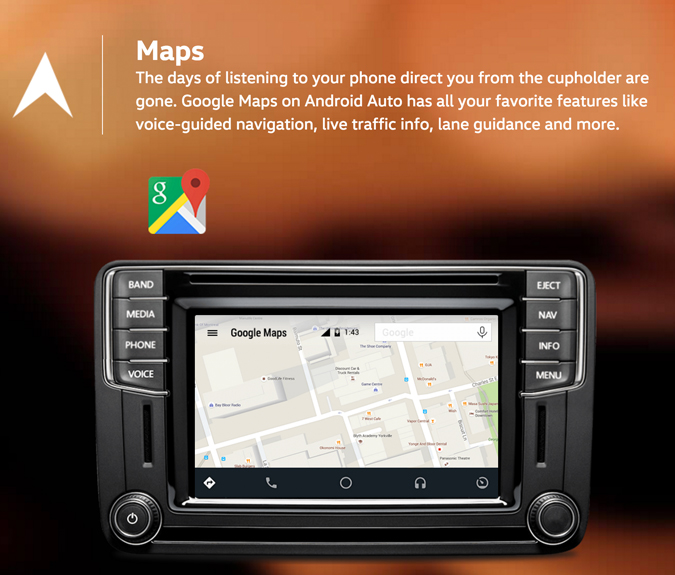 app connect and map