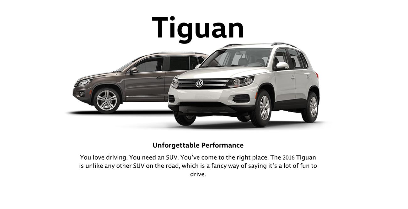 2016 Tiguan Brantford Volkswagen