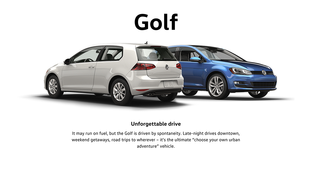 2016 Golf Brantford Volkswagen