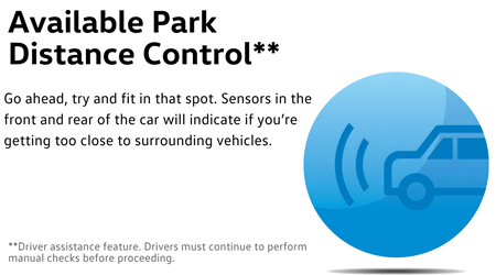 2016 Golf R park distance control