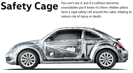 2016 Beetle Safety Cage
