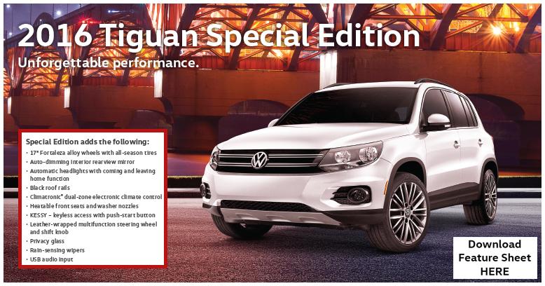 2016 Tiguan Special Edition