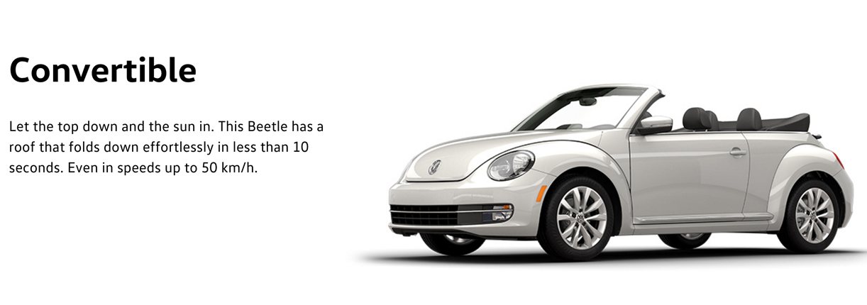 2016 Beetle Cabriolet