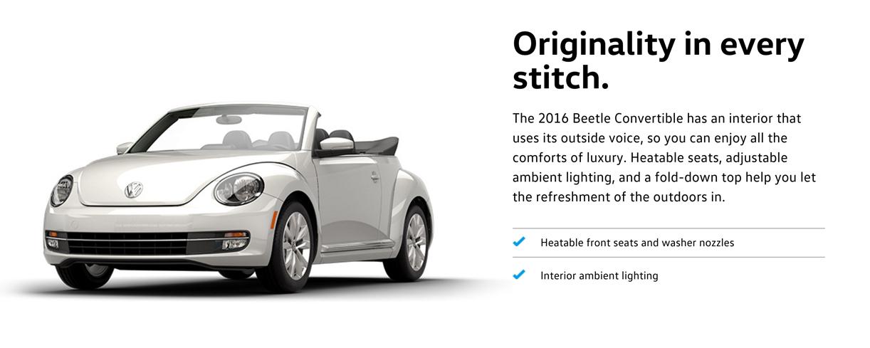 2016 Beetle Convertible