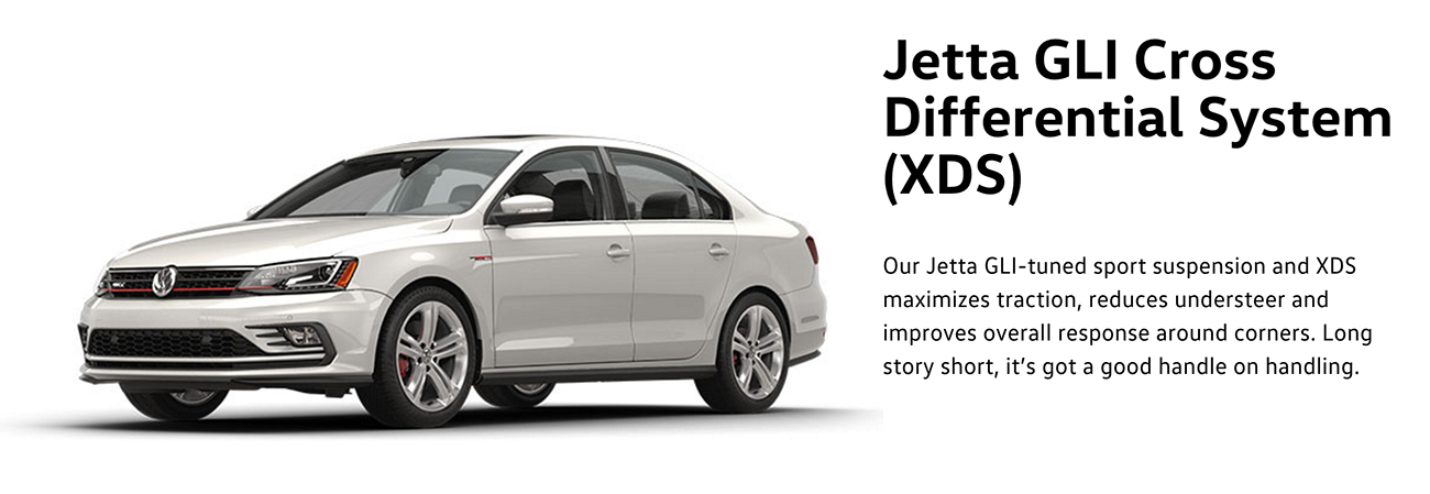 2016 Jetta GLI Cross System Differential (XDS)