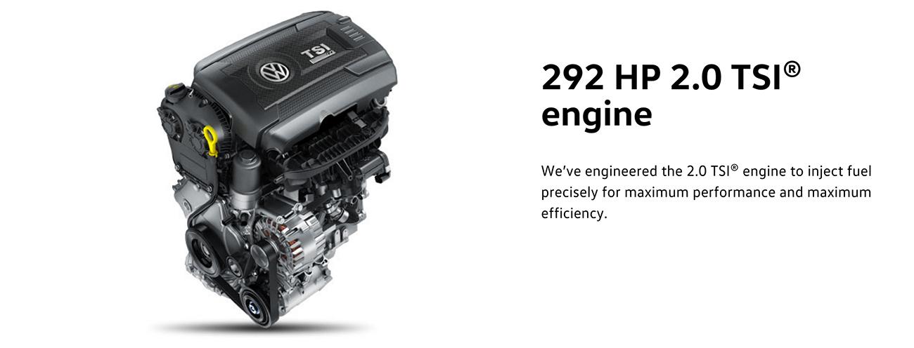 2016 Golf R engine