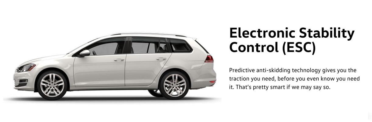 2016 Golf Wagon stability control