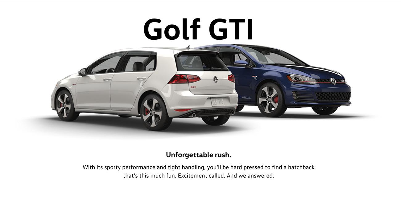2016 GTI Brantford Volkswagen