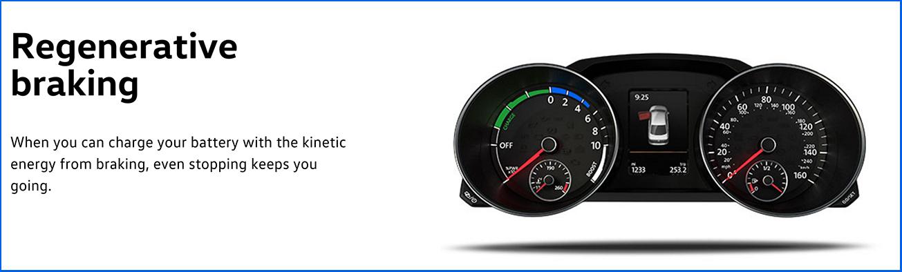 2016 Jetta Hybrid Regenerative Braking