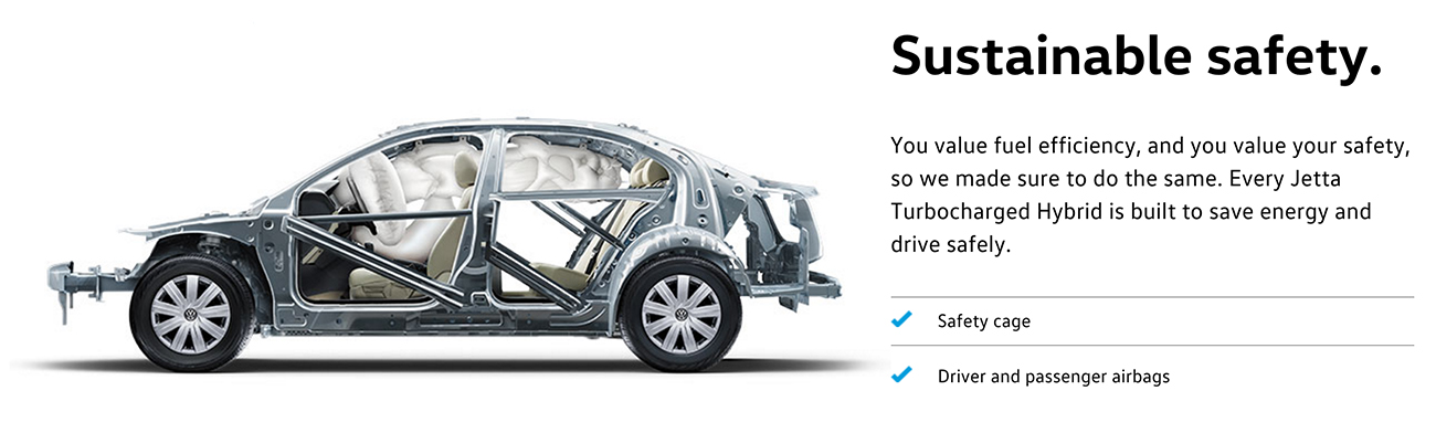 2016 Jetta Hybrid safety