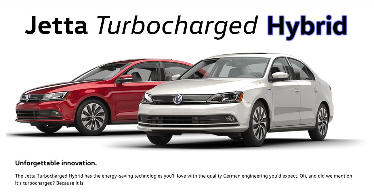 2016 Jetta Turbocharged Hybrid Brantford Volkswagen