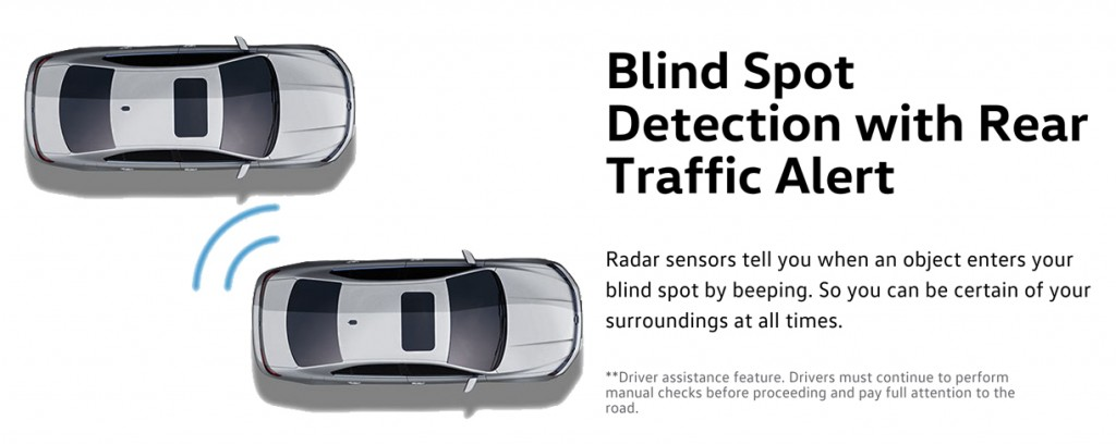 2016 Beetle blind spot detection