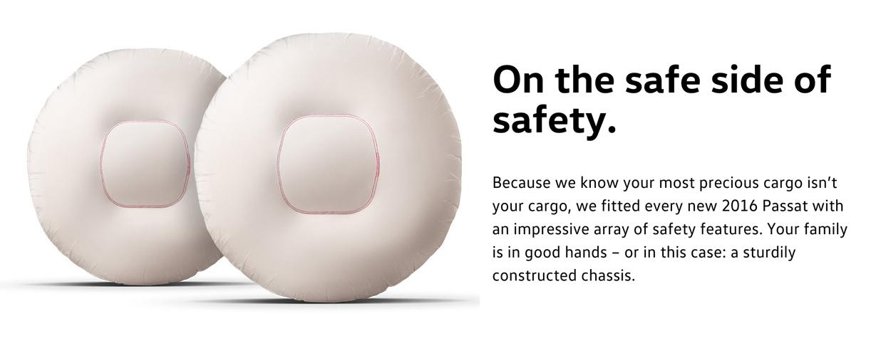 2016 passat safety