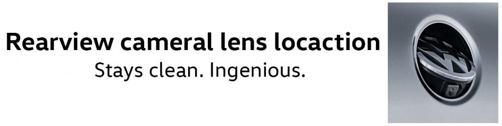 2016 rearview camera lens