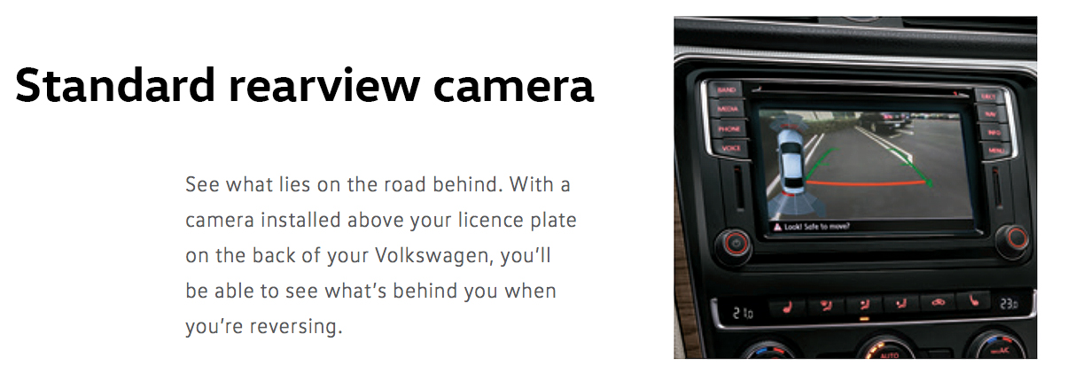 2016 rearview camera