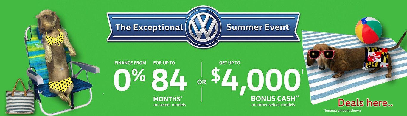 Autobahn for All Volkswagen Savings 0% for 6 years!