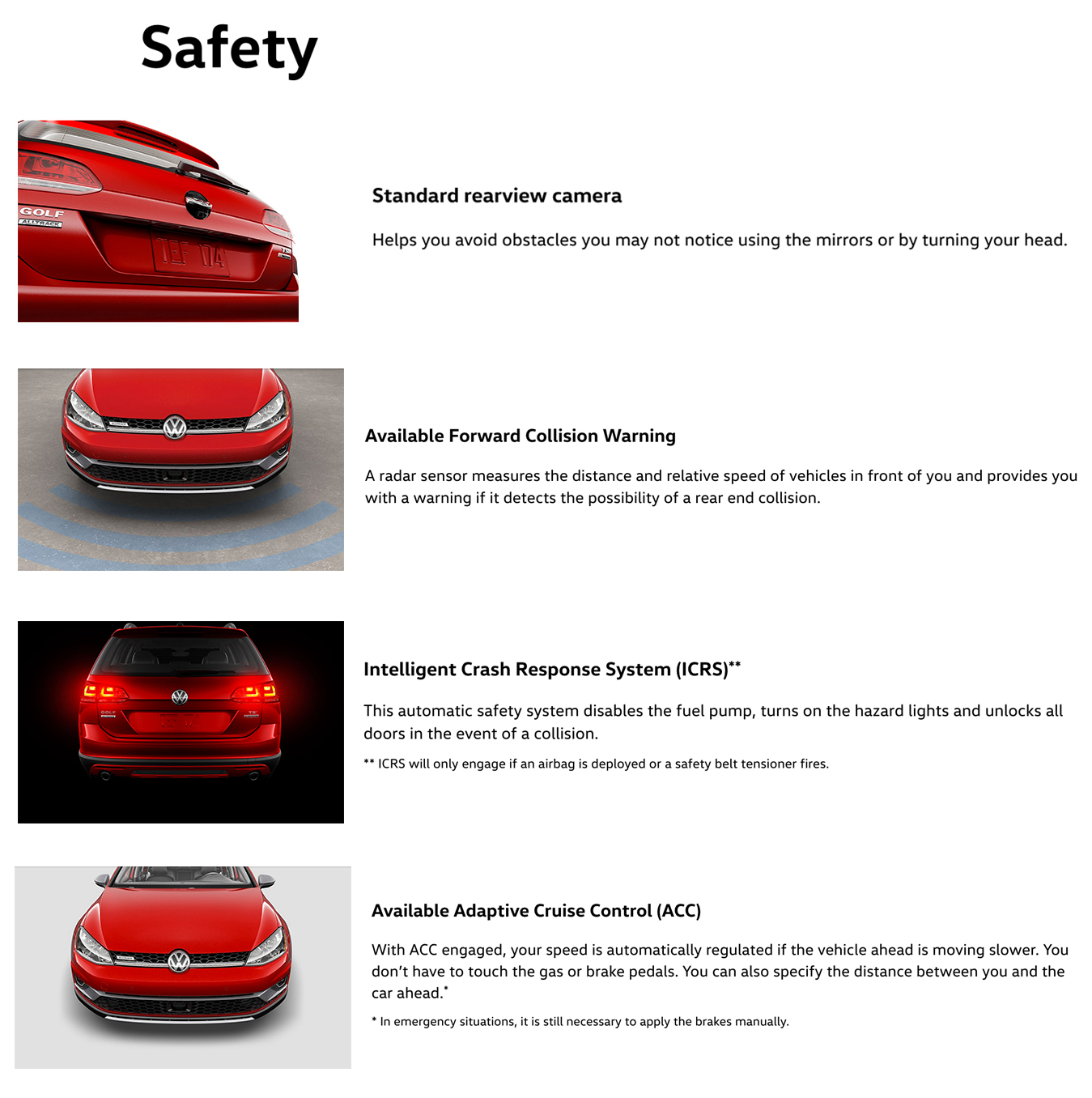 2017 AllTrack Safety