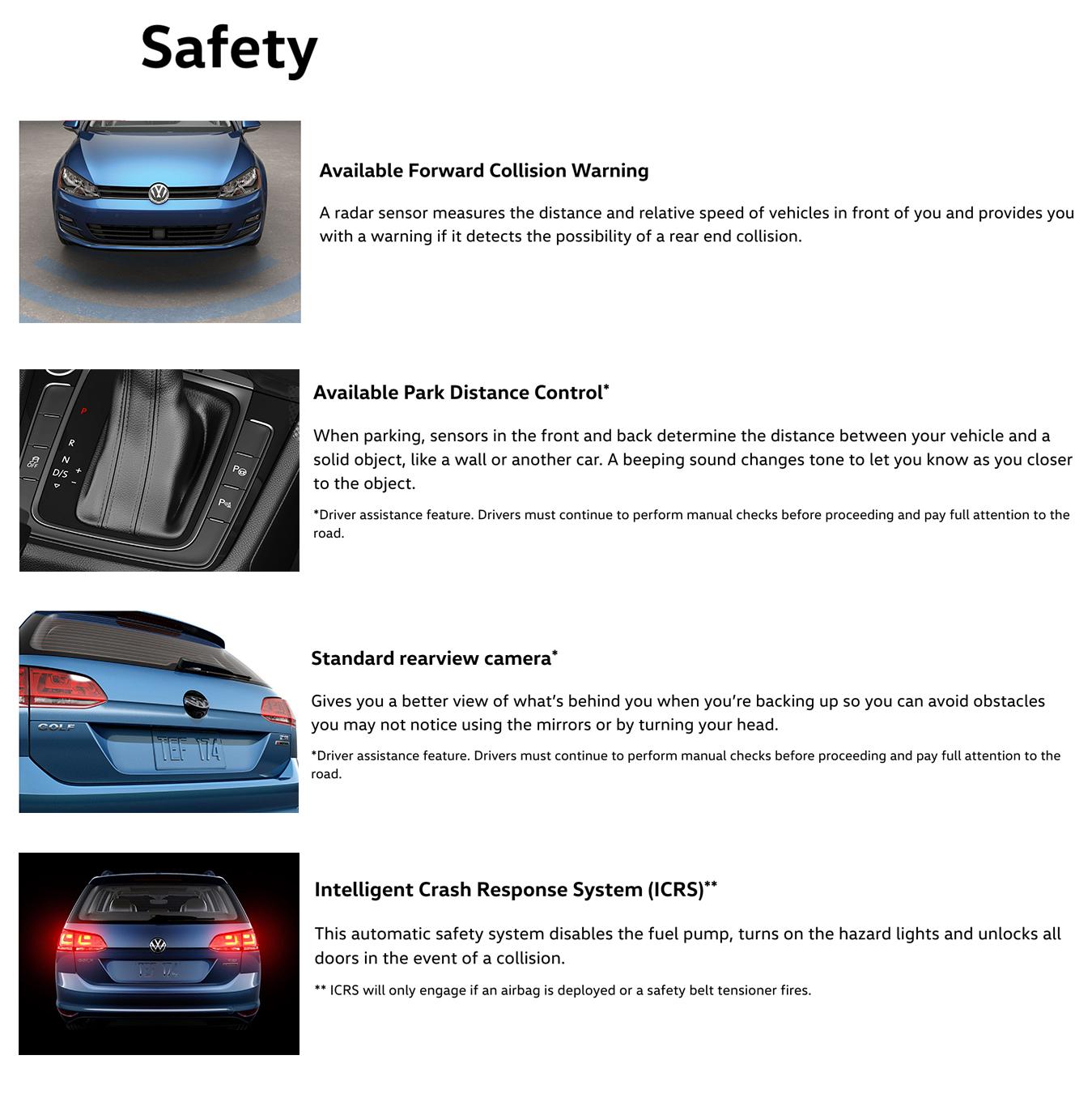 2017 golf sportwagen safety