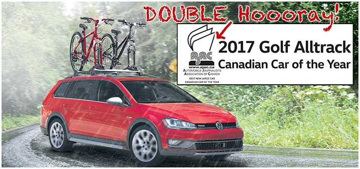 ajac car of the year 2017 Volkswagen Alltrack