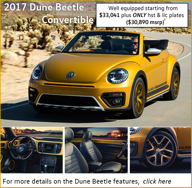 2017 Dune Beetle convertible