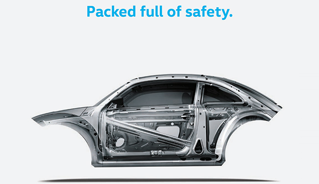 2017 beetle safety shell