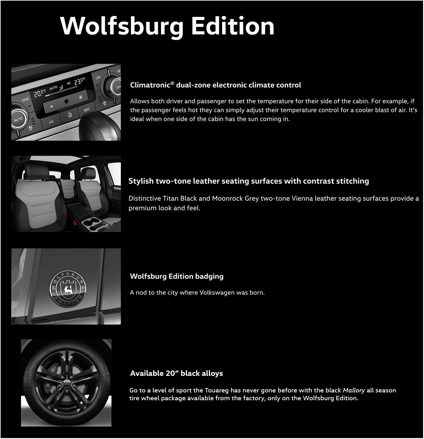 2017 touareg Wolfsburg edition