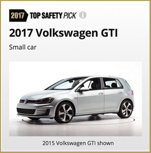 2017 GTI  iihs