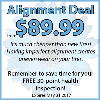 Volkswagen Alignment deal