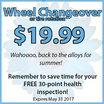 Volkswagen Seasonal Wheel Change