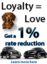 VW loyalty program for certified pre-owned volkswagens